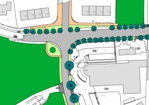 Feithenhof kruising Industrieweg-Energieweg