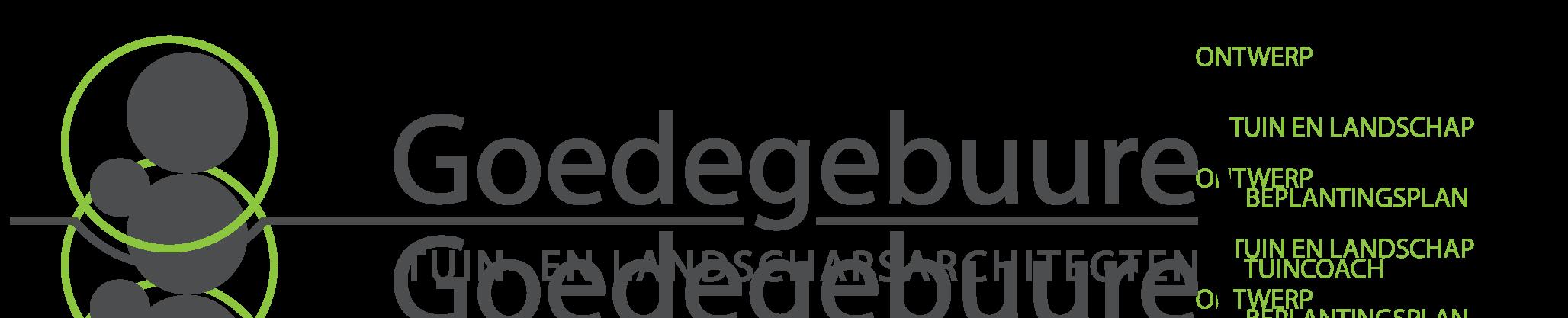 Goedegebuure Tuin- en Landschapsarchitect Logo